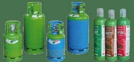 UTILIZZIAMO I MIGLIORI PRODOTTI PER RICARICHE DI GAS